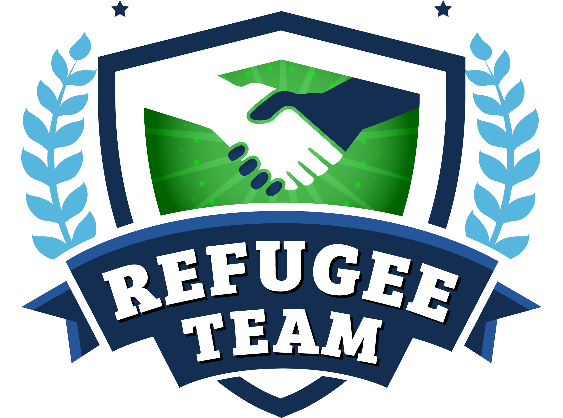 Logo - Refugee Team